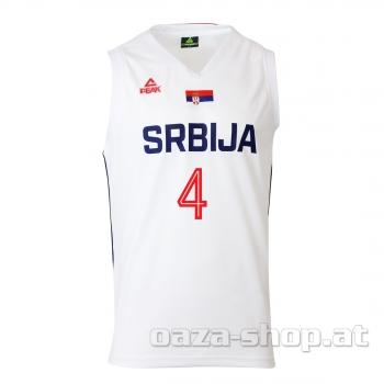 Košarkaški dres PEAK beli 2019/2020