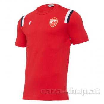 Macron pamučna majica CZ 2021/22 crvena