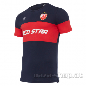 Macron pamučna majica RED STAR 2021/22 teget